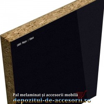 PAL Melaminat Negru U999-ST30