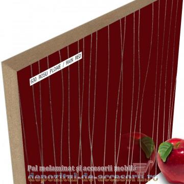Panou MDF Rosu ploaie 630 super lucios AGT high gloss