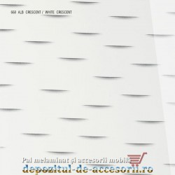 Panou MDF Alb Crescent 668 super lucios AGT high gloss