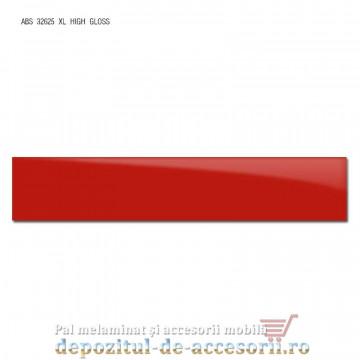 Cant ABS Rosu 22mm x 1mm super lucios (high gloss)