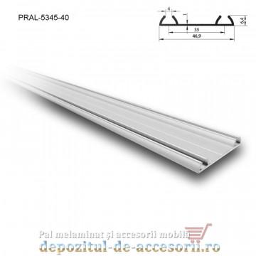 Sina dubla pentru PKM80 M lungimea 4m aluminiu