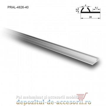 Șină simplă PKM80 M 4m aluminiu