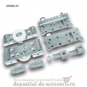 Sistem glisare SKM80 AY pentru uși glisante dressing