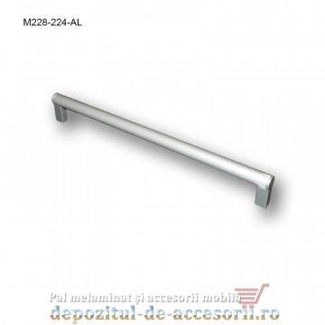 Mâner mobilier Aluminiu M228-224-AL