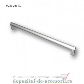 Mâner mobilier Aluminiu M228-256-AL