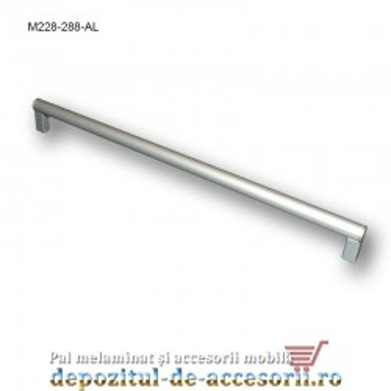 Mâner mobilier Aluminiu M228-288-AL