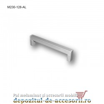 Mâner mobilier Aluminiu M230-128-AL
