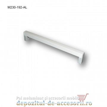 Mâner mobilier Aluminiu M230-192-AL