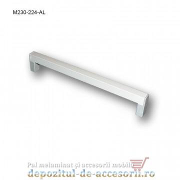 Mâner mobilier Aluminiu M230-224-AL