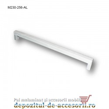 Mâner mobilier Aluminiu M230-256-AL