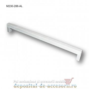 Mâner mobilier Aluminiu M230-288-AL