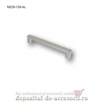 Mâner mobilier Aluminiu M229-128-AL