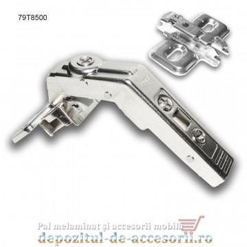 Balama Clip speciala corp de colt cu usa franta deschidere 60° Blum 79T8500