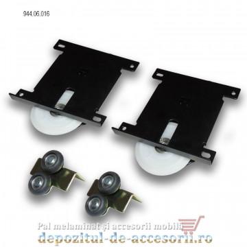 Sistem glisare Adoor 18 ECO pentru usi culisante dressing Hafele 944.06.016