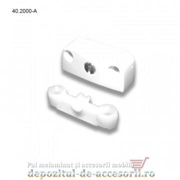 Demontabili de corp tip carcasa din plastic alb 40.2000 Blum