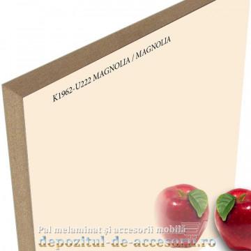 Panou MDF Acrilic Crem magnolia super lucios Unilin high gloss K1962-U222-19-UNI