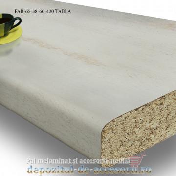Blat de bucatarie mat TABLA 38x600x4200mm FAB 65 FAB Grup