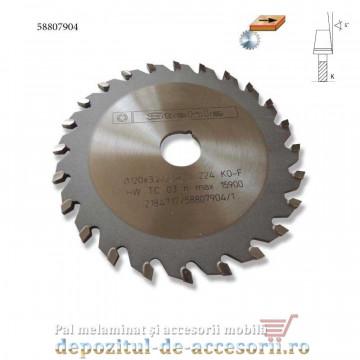 Pânză incizor circular Ø120mm Stehle 24 dinti conica