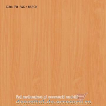Pal melaminat Fag D381 16mm PR Krono