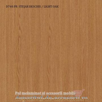 Pal melaminat Stejar deschis D740 PR 16mm Krono