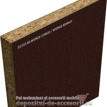Pal melaminat Wenge Congo D1555 BS Krono 18x2800x2070mm
