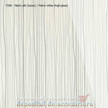 PAL Melaminat Matrix alb F240