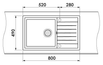 Dimensiuni spatiere gauri tehnologice FAT 228